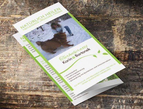 Corporate Design für mobile Tierheilpraxis aus Filderstadt