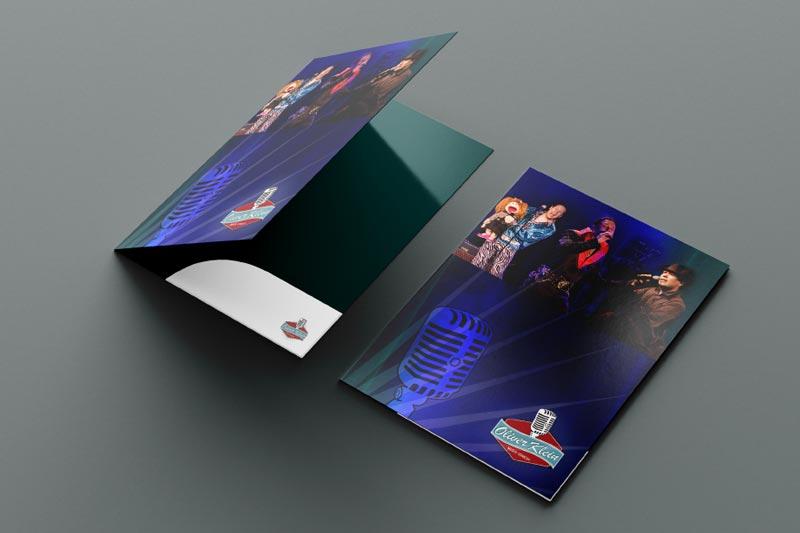 Printdesign Folder Oliver Klein