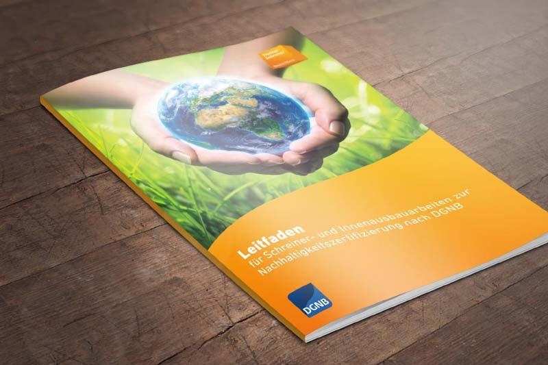 Leitfaden Nachhaltigkeitszertifizierung Schreiner BW Covergestaltung