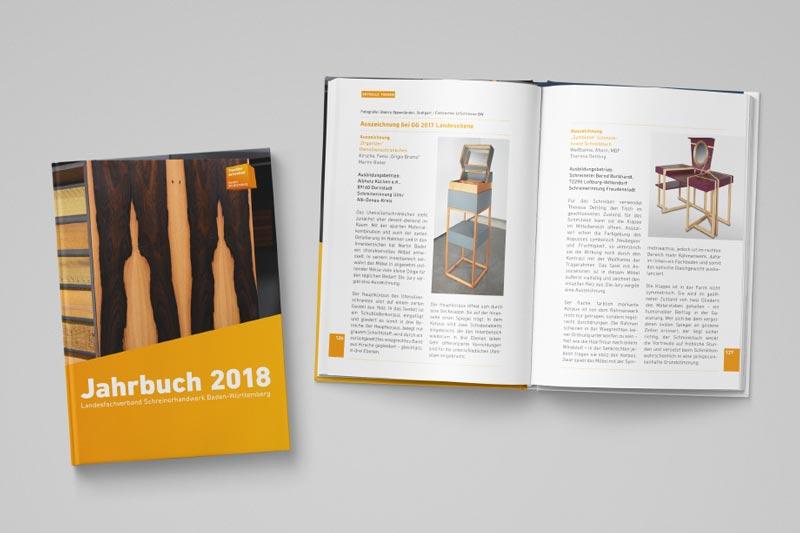Jahrbuch Gestaltung Schreiner BW